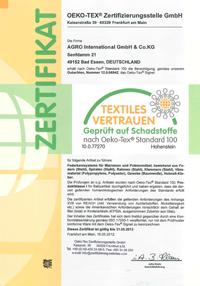德國AGRO 獨立筒彈簧認證